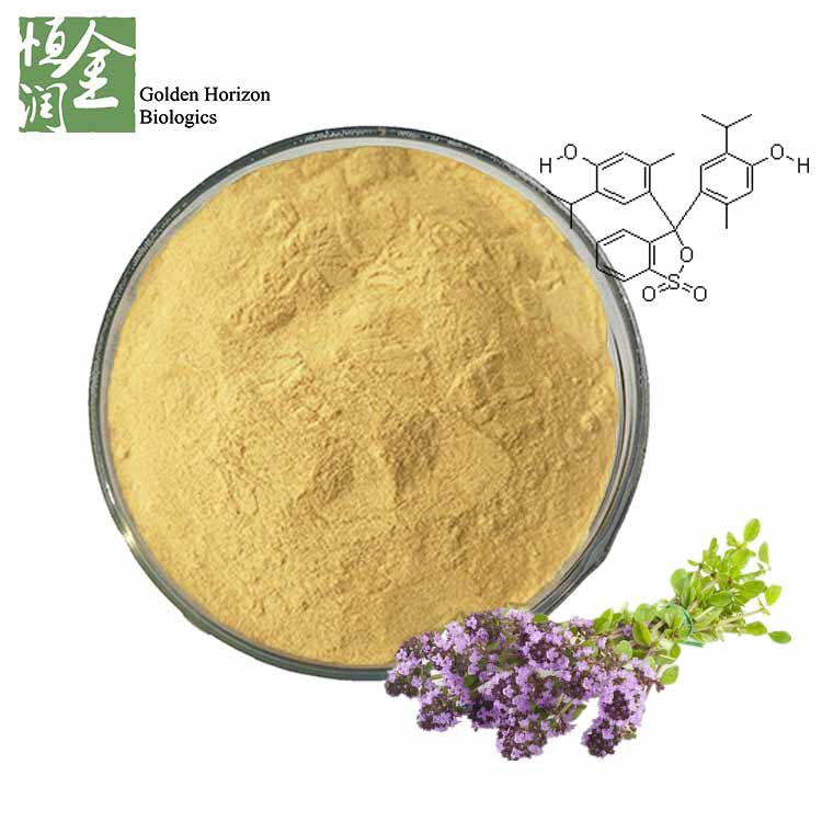 Factory Supply Thymol Extract Powder / Thymus Vulgaris Extract Thymolphthalein
