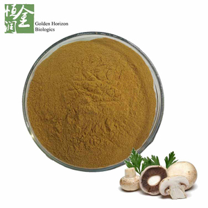 100% Natural Agaricus Bisporus Extract Powder White Button Mushroom Powder 50% Polysaccharides