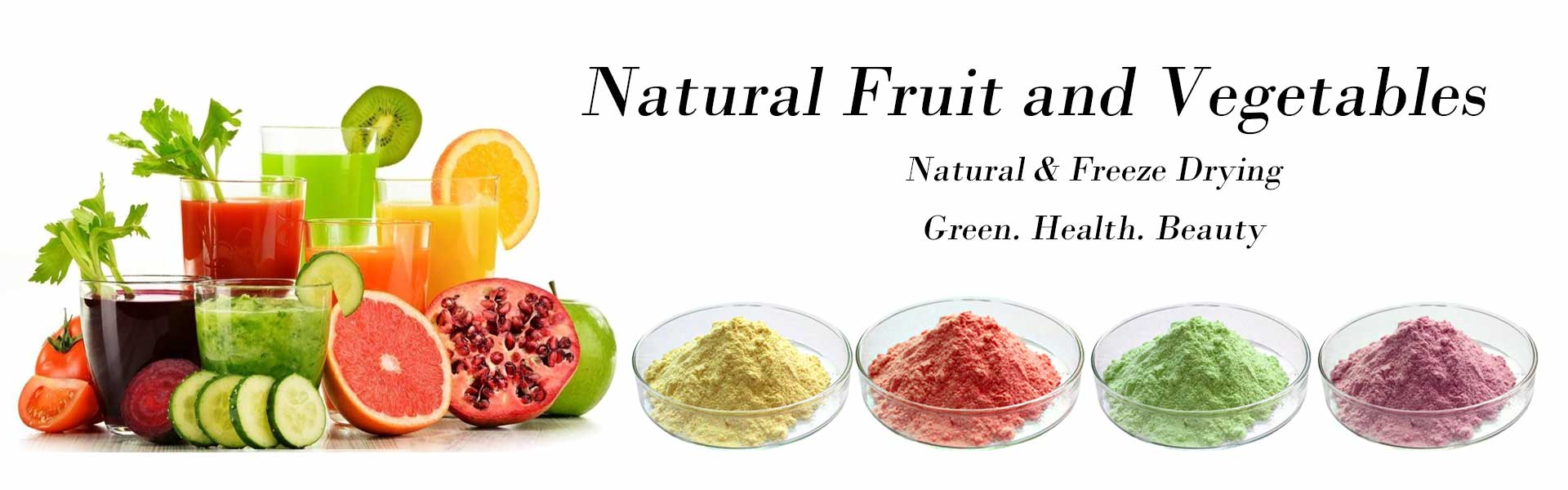 Fruit & Vegetable powder