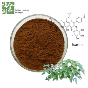 Wholesale Sex Improvement Herbal Leaf Extract Epimedium Icariin Powder