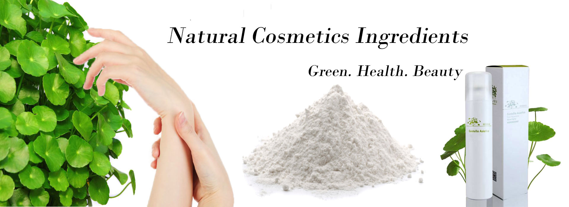 Natural Cosmetics Ingredient 1920X700