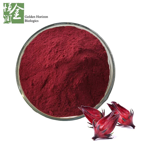 Hot Selling Hibiscus Flower Extract Roselle Extract